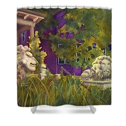 Complaining Lions Shower Curtain