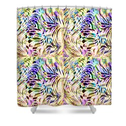 Complexity Shower Curtain by Nareeta Martin