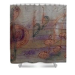 Composition In B Flat Shower Curtain