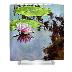 Composition Of Beauty Shower Curtain