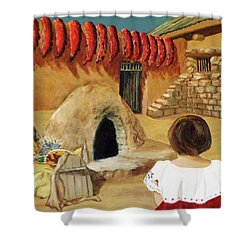 Compound Ovens Shower Curtain