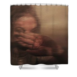 Concealed Shower Curtain by Cherise Foster