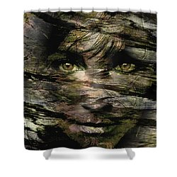 Concealed Emotions Shower Curtain
