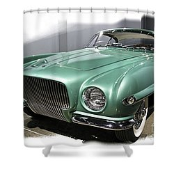 Concept Car 2 Shower Curtain