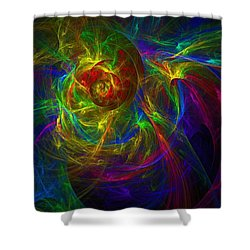 Conceptual Alchemy Shower Curtain