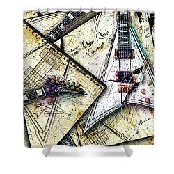 Concordia Shower Curtain by Gary Bodnar