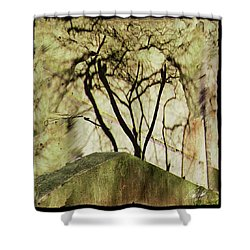 Concrete Jungle Shower Curtain