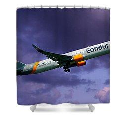 Condor Boeing 767-3q8 Shower Curtain