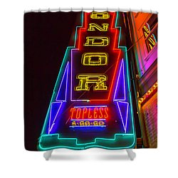 Condor Neon Shower Curtain