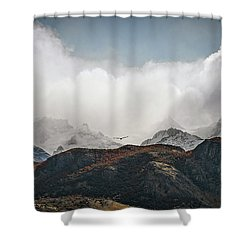 A Condor View Shower Curtain