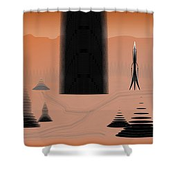 Cone City Shower Curtain