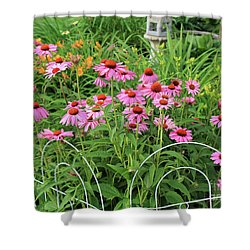 Cone Plants Shower Curtain