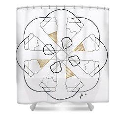 Cones Shower Curtain