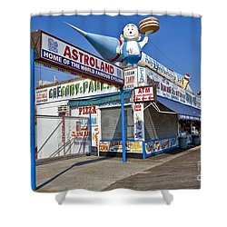 Coney Island Memories 11 Shower Curtain by Madeline Ellis
