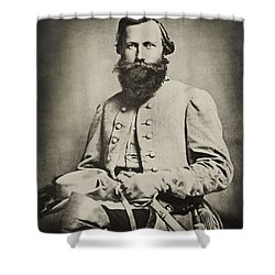Confederate Jeb Stuart Shower Curtain