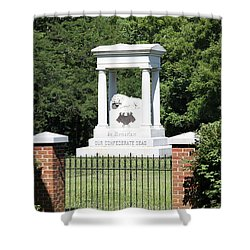 Confederate Memorial State Historic Park Shower Curtain