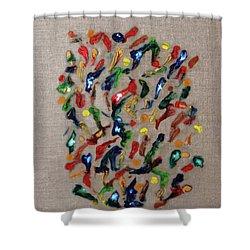 Confetti Shower Curtain