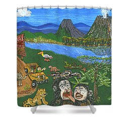 Congo   May Shower Curtain
