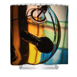 Conical Shower Curtain by Tim Nichols
