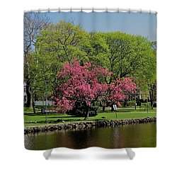 Connecticut Shower Curtain by John Scates
