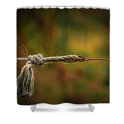 Shower Curtain featuring the photograph Connection by Odd Jeppesen