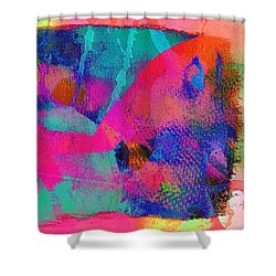 Connivance,just Another Texture Shower Curtain