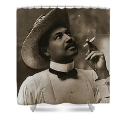 Shower Curtain featuring the photograph Connoisseur 1899 by Padre Art