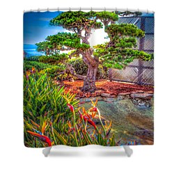 Consciousness Waves And Then Matters Shower Curtain