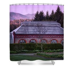 Conservatory At Biltmore Estate Shower Curtain by Doug Sturgess