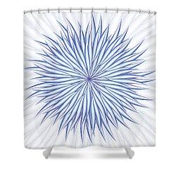 Shower Curtain featuring the digital art Consontrate by Jamie Lynn