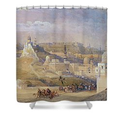 Constantinople Shower Curtain by David Roberts