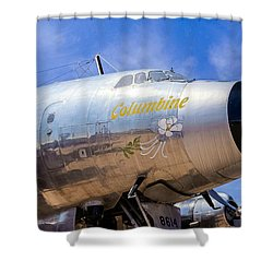 Constellation Columbine Shower Curtain
