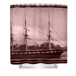 Constellation Returns - Old Photo Look Shower Curtain by William Bartholomew