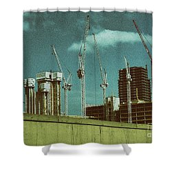 Construction Works In Stratford Shower Curtain