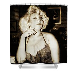 Shower Curtain featuring the photograph Consuela Del Rio. Drag Mother At The by Mr Photojimsf