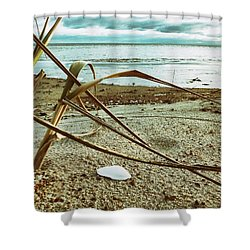 Contemplate Shower Curtain