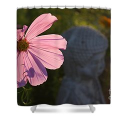 Shower Curtain featuring the photograph Contemplating The Cosmo by Brian Boyle