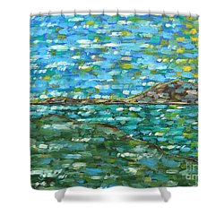 Contemplation 2 Shower Curtain by Patrick J Murphy