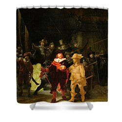 Contemporary 1 Rembrandt Shower Curtain