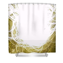 Contemporary Abstraction II Limited Edition 1 Of 1 Shower Curtain