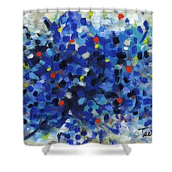 Contemporary Art Fifty Shower Curtain