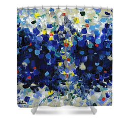 Contemporary Art Forty-four Shower Curtain