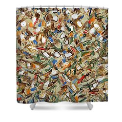 Contemporary Art Forty-seven Shower Curtain