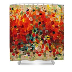 Contemporary Art Thirty-three Shower Curtain