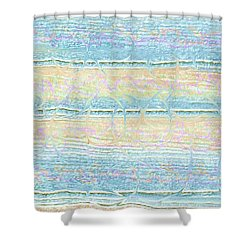 Contemporary Design Shower Curtain by Ellen O'Reilly