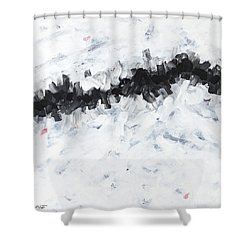 Contemporary Landscape 2of2 Shower Curtain