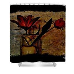 Contemporary Still Life Shower Curtain