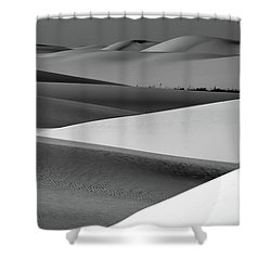 Shower Curtain featuring the photograph Contrasting Sand by Brian Spencer