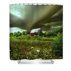 Convergence Shower Curtain by Phil Koch
