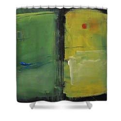 Conversation With Rothko Shower Curtain by Tim Nyberg